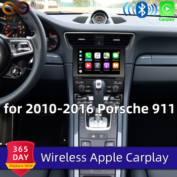 Sinairyu OEM Wireless Apple CarPlay for Porsche PCM 3.1 2010-2016 Cayenne Macan Cayman Boxster 911 Android Auto Mirror Car play