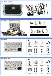 Image 5 - Eunavi 2 דין אנדרואיד DVD לרכב אוטומטי רדיו מולטימדיה עבור פולקסווגן גולף 5 פולו בורה ג טה B6 פאסאט Tiguan סקודה אוקטביה טוראן GPS DSP