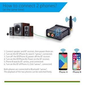 Image 5 - QCC3008 Hi Fi класса Bluetooth 5,0 4,2 аудио усилитель приемника Hi Fi стерео изменить Поддержка APTX с низкой задержкой золотистый и черный