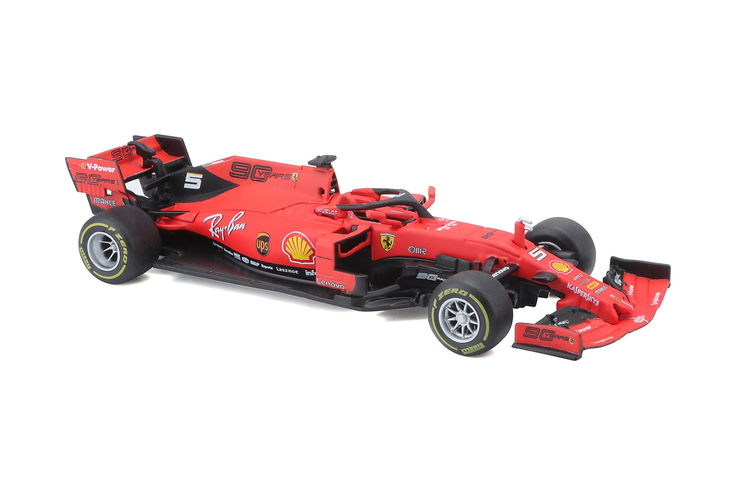 BBURAGO 1:43 2019 FERRARI F1 SF90 Model Racing CAR NEW IN BOX