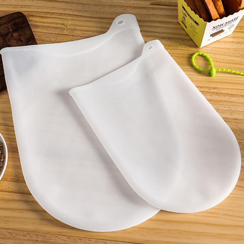1PCS Silicone Kneading Dough Bag Preservation Flour-mixing Bag Soft Magical Knead Dough Set Kitchen Gadget Accessories