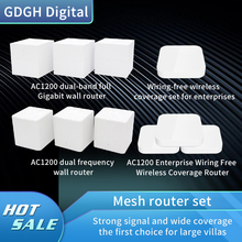 AC1200 Full Coverage Wireless Router Internet Mesh WiFi System, 2,4G/5G Gigabit Router Für Home / Business/Hotel/Büro