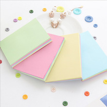 Post It Notes Color Large Size Multiple Self-adhesive 100 Square Everything Kawaii Memo Pads