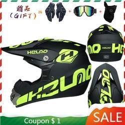 Motor Bike Cross Racing Motorcycle Helmet Safety Enduro Capacete Motorrad Cascos Downhill Bicycle Engine Cafe Racer ATV Helmets