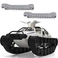 SG 1203 Welt von RC Tank Auto 2,4G 1:12 High Speed Full Control Fahrzeug Modelle 5M Waten Tiefe mit Möwe-flügel Tür Metall Crawler