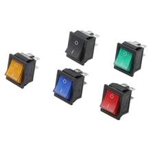 1 шт. фиксация кулисный переключатель питания I/O 4 шпильки с светильник 16A 250VAC 20A 125VAC KCD4