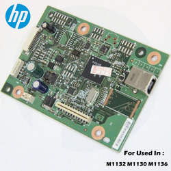 Orijinal yeni HP LaserJet M1132 M1136 M11130 1132 1136 1130 Formatter BoardMain kurulu mantık kurulu CE831-60001