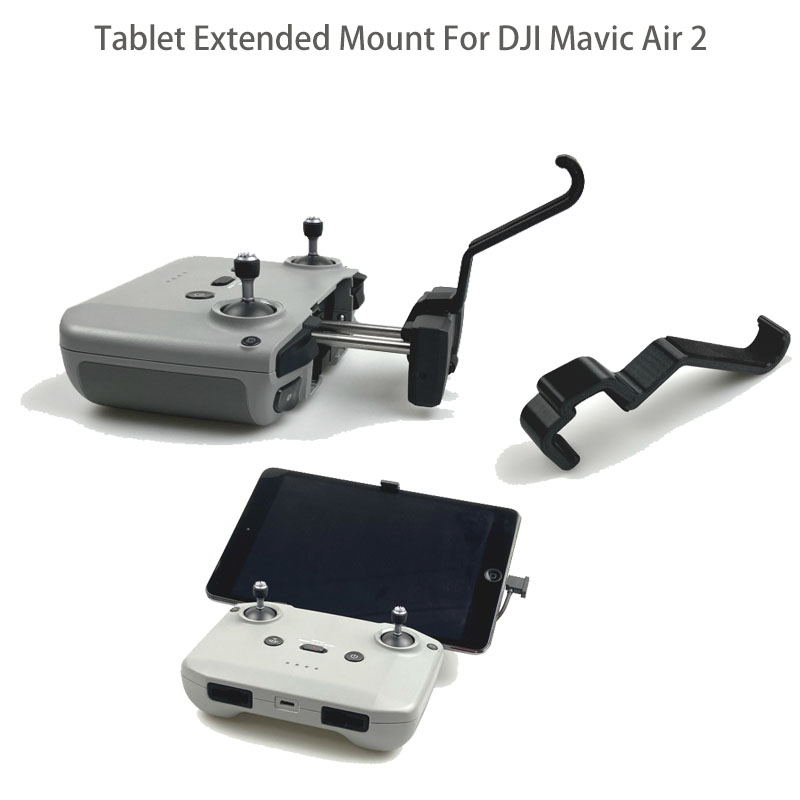 Remote Control Tablet Extended Bracket Mount Transmitter Tablet Clip Holder Stand Cradle For DJI Mavic Air 2 Drone Accessories