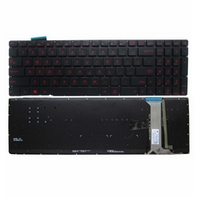 Keyboard-Part Replacement Laptop Backlit Asus Keypad for G551vw-ds51/G551vw-ds71/G551/..