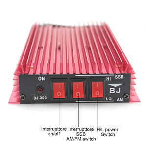 Image 5 - BJ 300 CB راديو مكبر كهربائي 100 واط HF مكبر للصوت 3 30 ميجا هرتز AM / FM / SSB / CW لاسلكي تخاطب CB مكبر للصوت