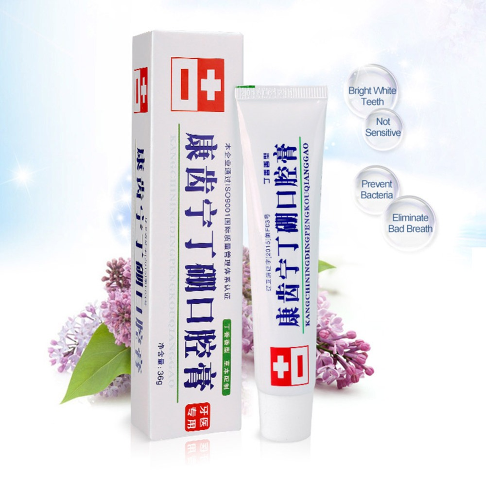 Teeth Beauty Bamboo Cream Anti-inflammatory Analgesic Deodorant Fresh Mouth Gingo Jian Dental Care Special Toothpaste Teeth