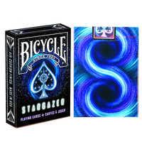1 deck Fahrrad Karten Stargazer Spielkarten Regelmäßige Fahrrad Deck Reiter Zurück Karte Zaubertrick Magie Requisiten