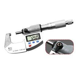 Duży ekran średnica zewnętrzna mikrometr 0-25mm mikrometry spirala narzędzie pomiarowe