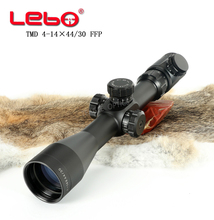 Hunting Scope TMD4-14x44 FFP Riflescope First Focal Plane with ILLUMINATION Stretch Lock  11mm or 20mm