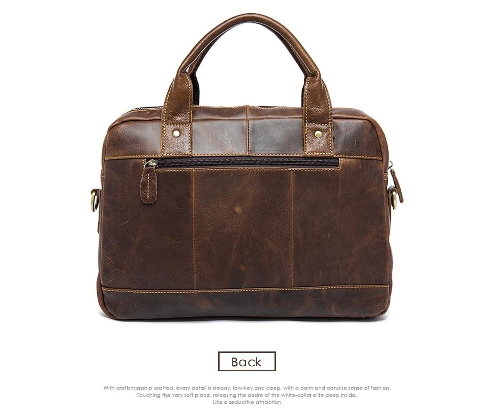 H53ad072c04644a748d9048c7a6d3d818O MVA men's bag/briefcase leather office/laptop bag for men's genuine leather bag business document man briefcase handbag 8002-1