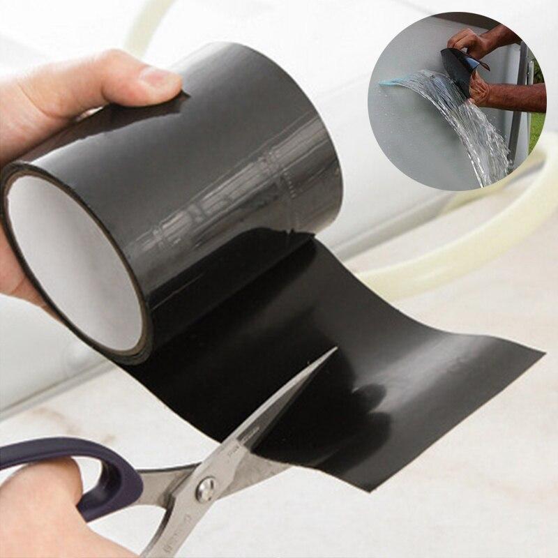 Outdoor Leakage Repair Waterproof Super Glue Tape Garden Hose Water Bonding Tube Pipe Pool Rescue Repair Stop Leakage Duct Tape