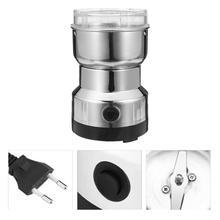 220 В электрическая кофемолка, мини кухонный измельчитель соли и перца, миксер, мельница для шлифовки, кухонные инструменты с европейской вилкой