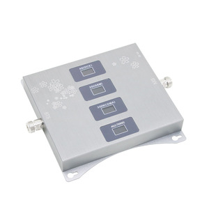 Image 2 - 4g LTE 800/900/1800/2100 mhz Four Band Cell Phone Booster Mobile Signal Amplifier 2G 3G 4G Repeater Band20/8/1/3 GSM DCS WCDMA