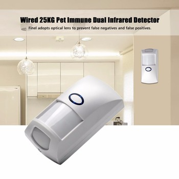 NEW 433 MHz 1527 Code Pet Immune PIR Motion Detector Sensor With White Color for Home Security for our G5S Alarm System