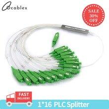 10 Stks/partij 1X2 1X4 1X8 1X16 1X32 Plc Sc/Apc Sm 0.9Mm G657A1 Pvc 1M Ftth Fiber optic Splitter