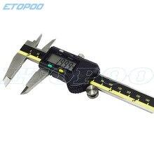 Цифровой штангенциркуль из нержавеющей стали 0-150 мм 200 мм 300 мм Электронный штангенциркуль микрометр