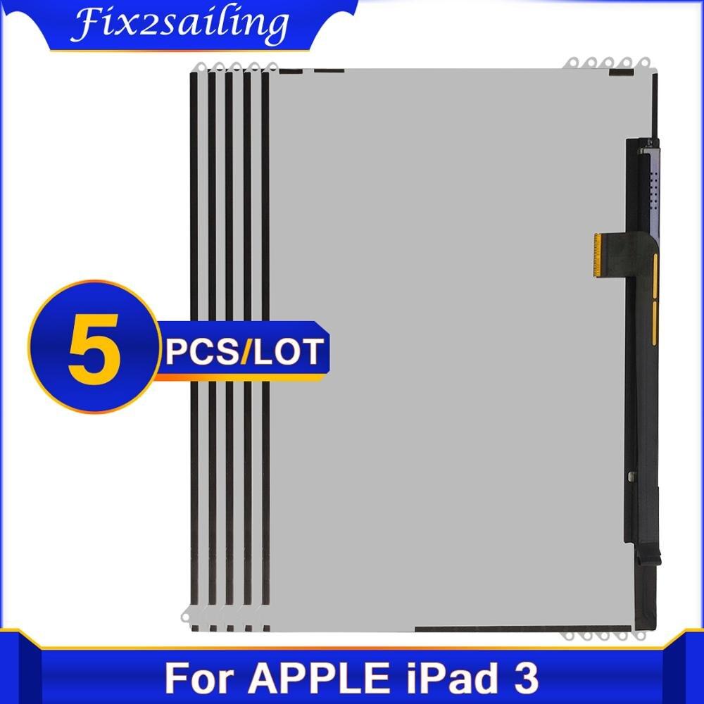 5 шт. для Apple iPad 3 4 3-го 4-го A1416 A1430 A1403 A1458 A1459 A1460 планшет ЖК-дисплей экран для iPad3 iPad4 ЖК-дисплей Бесплатная доставка