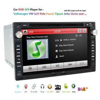 car multimedia radio navi for VW Volkswagen Passat Jetta transport T5 Golf Polo MK3 MK4 MK5 seat GPS DVD player swc rds dtv dab+