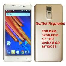 3Gb Ram 32Gb Rom Santin V9 Pro K253 5.5 ''Hd Quad Core Telefoon MTK6735 4G Lte smartphone Android 6.0 Mobiele Telefoon