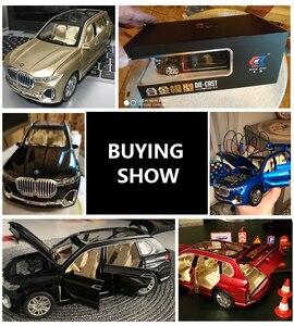 Image 5 - Modèle de voiture BWM X7, moulage de véhicules jouets, Simulation de véhicules, lumière, son, jouet pour enfants, à collectionner, livraison gratuite, 1:24