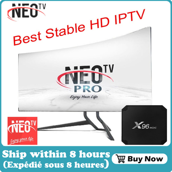 X96 mini Neo pro TV 4K French IPTV subscription Arabic Europe Belgium UK IPTV code Neo one year  Android Smart TV Box only