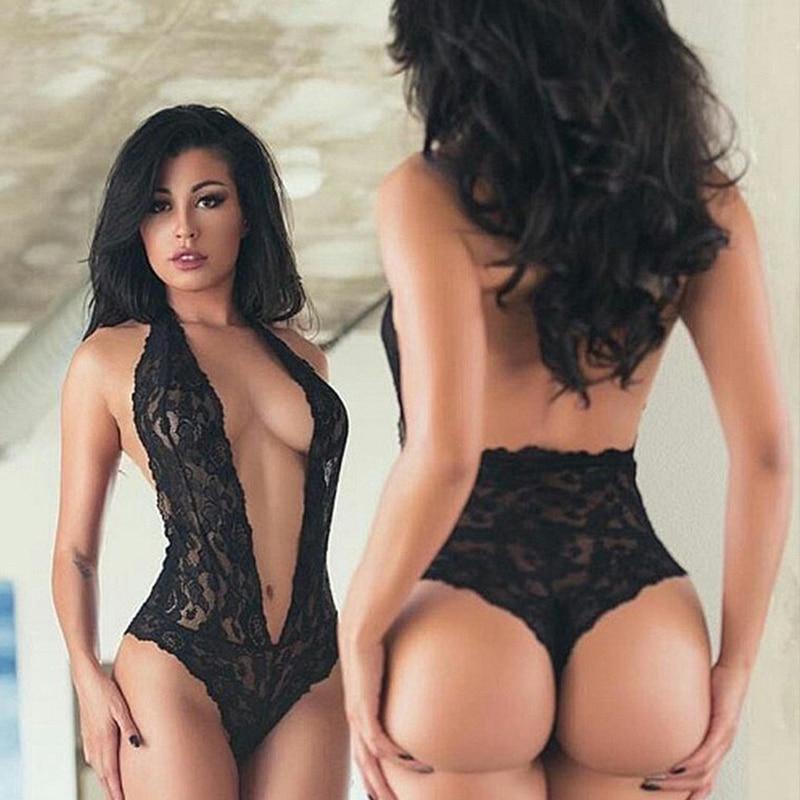 Сексуальное кружевное нижнее белье с глубоким V-образным вырезом для интима, женское порно Нижнее белье, горячее эротическое нижнее белье, ж...