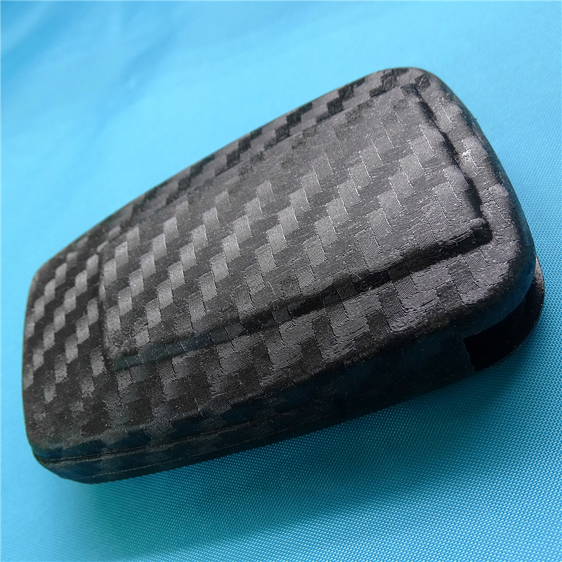 Fits Toyota Camry 2018-2019 Carbon Fiber Key Fob Remote Cover Protector Shell