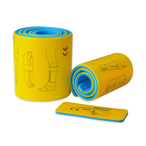 Image 2 - 3pcs/set Medical Splint Roll Aluminium Emergency First Aid Fracture Fixed Splint With Self adhesive Bandage