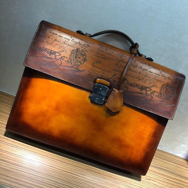 Мужская сумка, портфель, сумка высокого качества, деловой известный бренд, кожаные сумки на плечо, Офисные Сумки