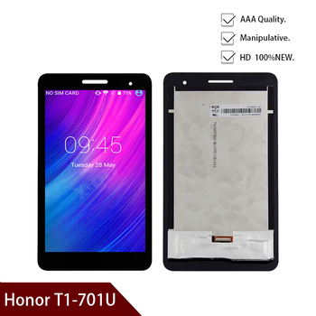For Huawei Honor Play Mediapad T1 T1-701 T1-701U T1-701W LCD Display Digitizer Screen Touch Panel Sensor Assembly Free Shipping image