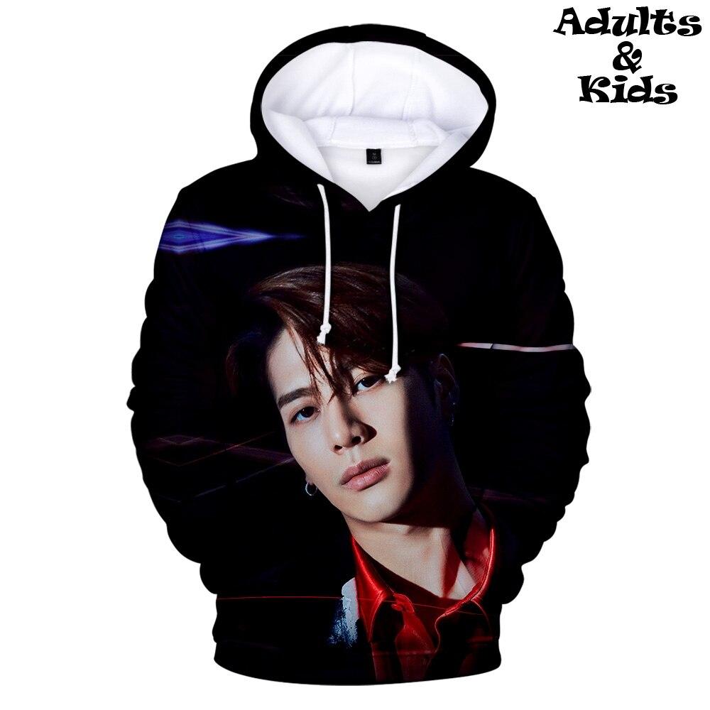GOT7-sweat-shirt à capuche | Imprimé 3D kpop, sweat-shirt de grande enseigne, tendance, décontracté, pour enfant et Parent, automne/hiver