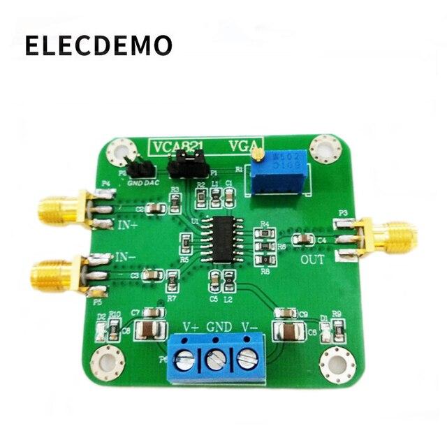 VCA821 Module Voltage Control Gain Amplifier Electronic Race Module Programmable Gain Amplifier Authentic