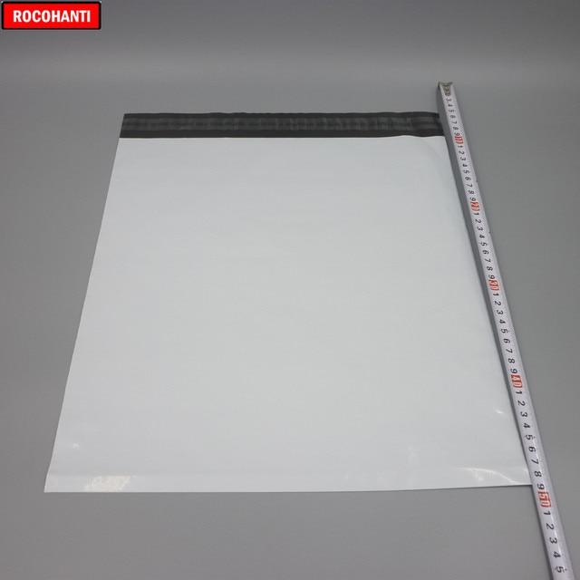 100x White Poly Shipping Bags Custom Logo Printed Plastic Shipping Mailing Bag 17*30cm