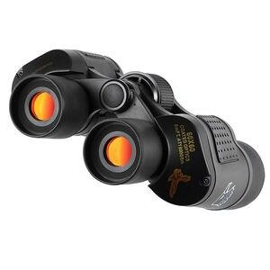 Image 3 - גבוהה בהירות טלסקופ 60X60 משקפת Hd 10000M מתח גבוה עבור חיצוני ציד אופטי Lll ראיית לילה משקפת קבוע זום
