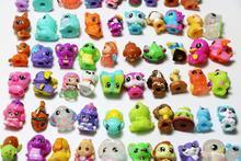 100pcs/lot High quality Mini Cute Animals Dolls Cartoon Animal Action Figures Toys Birthday Gifts Children Christmas Gift