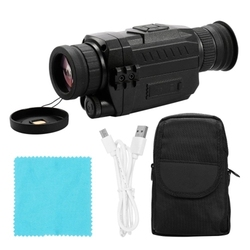 NV0535 Night-Vision 5X Optical 8X Digital Zoom Infrared Digital Vedio Camera 200M Range Monocular Scope