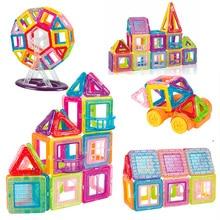 Building-Toys Magnet-Constructor Designer Children Mini for Gifts 42-184pcs Models