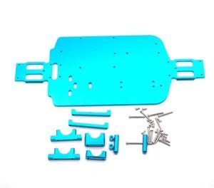 Image 2 - Piezas de chasis de Metal para coche de control remoto WL A959 A979 A959B A979B