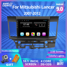 2G + 32G 2DIN Android 9.0 Car Radio For Mitsubishi Lancer 2007-2012 Car Video Audio Multimedia Player Car Dvd GPS Navigation vtopek 2din 2 32g 4g net wifi car multimedia player for mitsubishi lancer 2007 2012 navigation gps auto android radio 2 din dvd