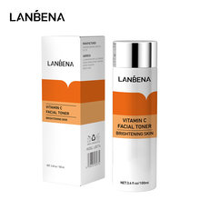 LANBENA Vitamin C Facial Moisturizing Whitening Toner Brighten Tender Fading Dark Spots Anti-aging Anti-wrinkle Skin Care 100ML