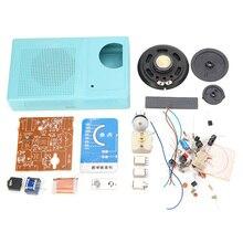 LEORY AM набор радиоприемников, сделай сам, электронный радиоприемник S66E S66D 6, Супергетеродинный транзистор 530 кГц ~ 1605 кГц