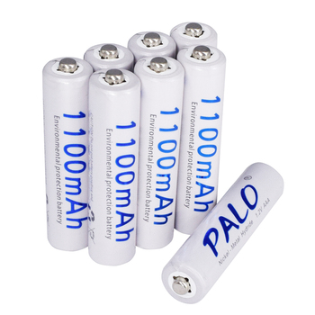 PALO 2-24 pcs AAA rechargeable battery 1.2V 1100mAh 3A ni-mh ni mh nimh 1.2 volt  original high capacity current batteries 4pcs lot new masterfire ni mh aaa 2 4v 800mah ni mh battery rechargeable cordless phone batteries pack with plugs