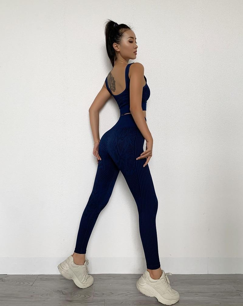 Snakeskin Women's Seamless Legging Fitness Suits
