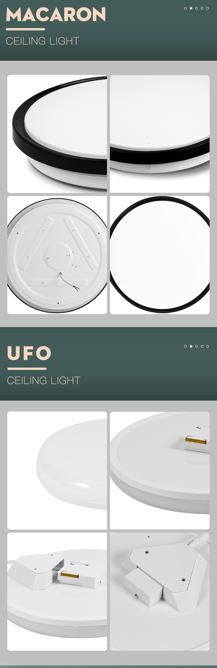 H53b056f84021442b9d1c5807d26263daO Led Ceiling Lights Modern LED Ceiling Lamp Light 220V 15W 20W 30W 50W Cold Warm White  Lighting Surface Mounted For Home Kitchen