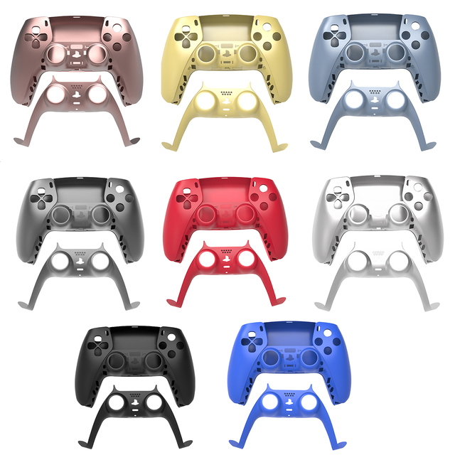 Skin Shell Case Cover Replacement For PS5 Console Game Gaming Controller Gamepad Protective Cover For Sony PS5 Handle Joystick